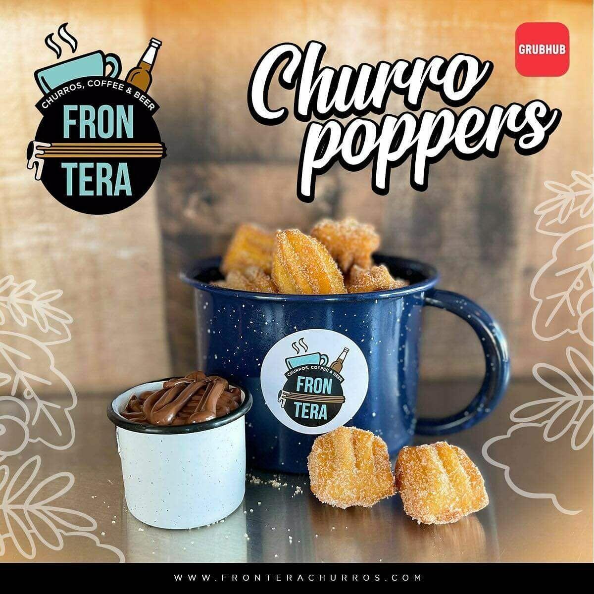 Churro Poppers