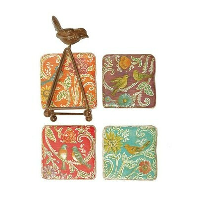 Bird Coaster Set