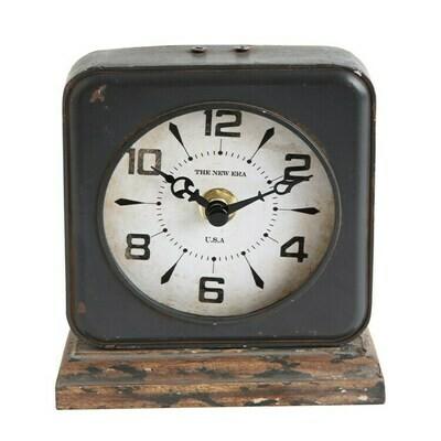 Black Square Clock