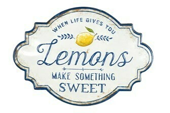 Lemons Wall Sign