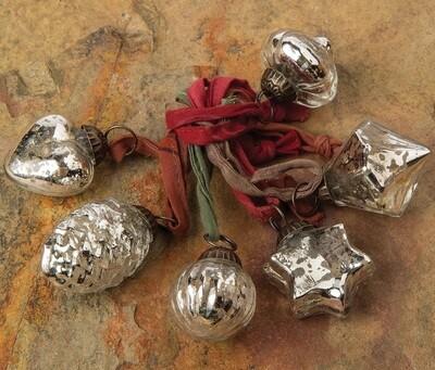 Assorted Mini Ornaments S/6