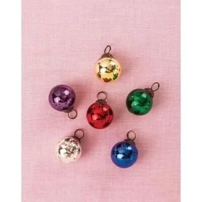 Multi-Color Mini Ornaments S/6
