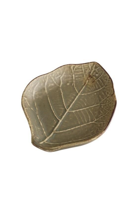 Green Leaf Plate