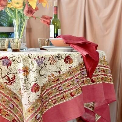 "Tablecloth 59""x59"""