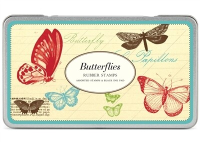 Butterfly Rubber Stamps