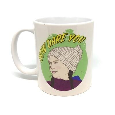 "Greta Thunberg ""How Dare You"" Mug"