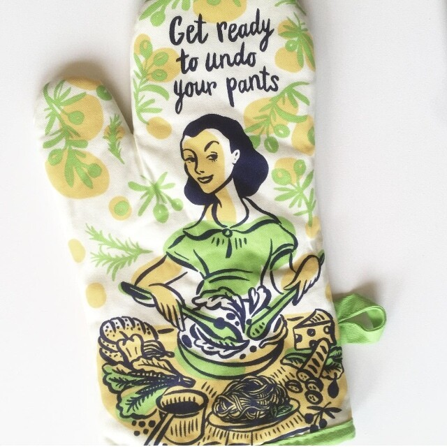 """Get Ready to Undo Your Pants"" Oven Mitt"