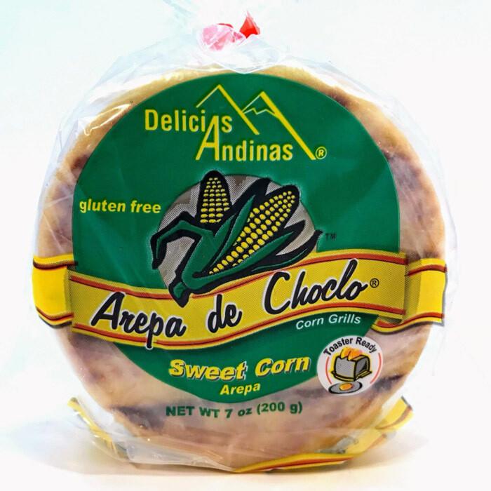 Arepa de Choclo 3 small-Delicias Andinas