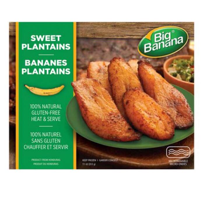 Big Banana Sweet Plantains small box 312gm
