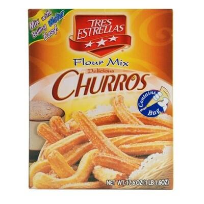 Churros-Tres Estrellas Churros Flour mix 1lb