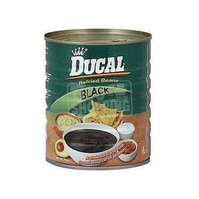 Ducal Negro refrito 29oz