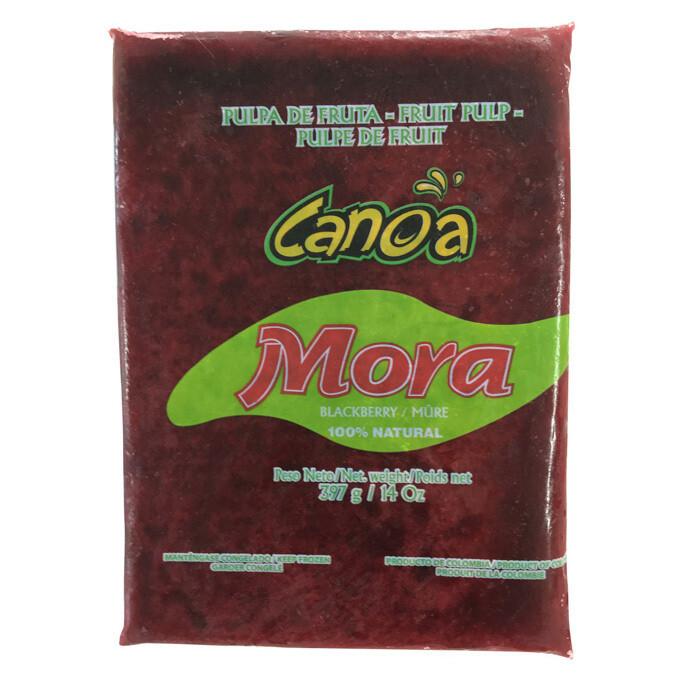 Frozen Pulp Mora/Blackberry Canoa