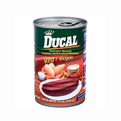 Ducal Rojo (Red) Refried 15oz