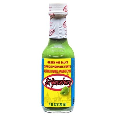 Hot Sauce- El Yucateco Verde.