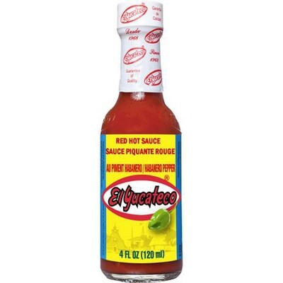 Hot Sauce- El Yucateco Rojo