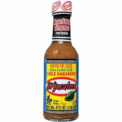 Hot Sauce-El Yucateco XXX Extra-hot