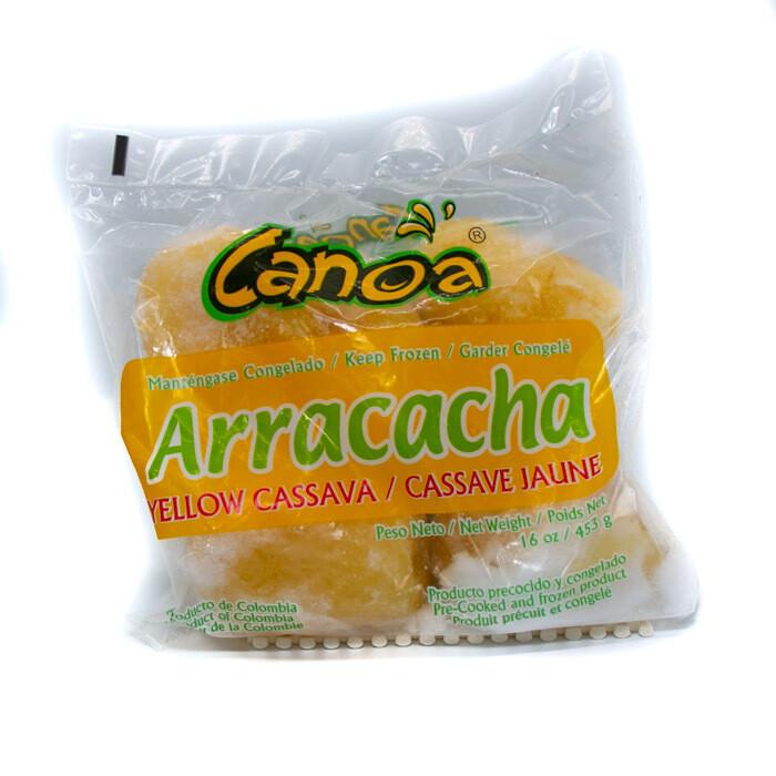 Arracacha - Yellow Casava Frozen 1Lb