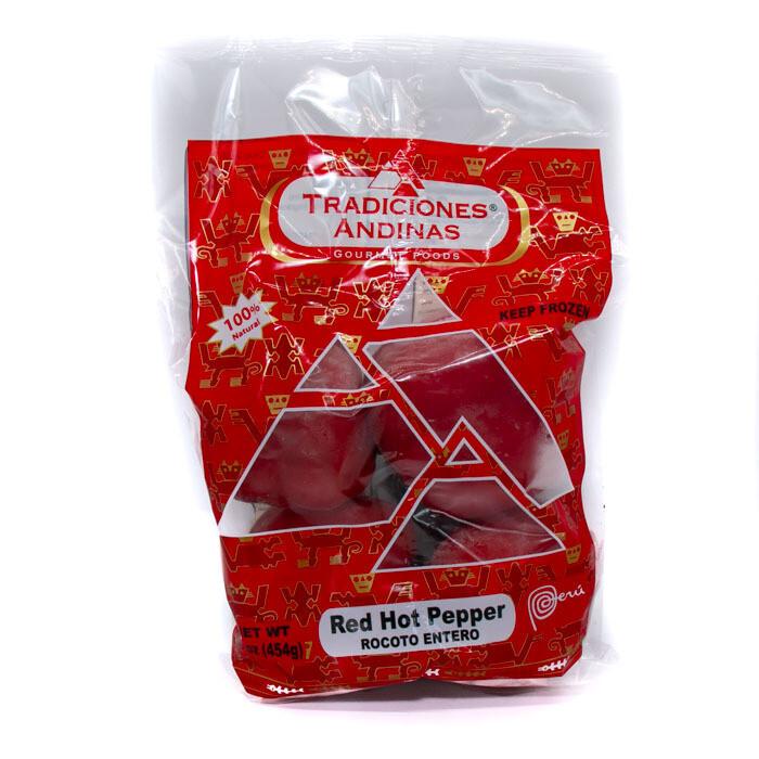 Peruvian-Tradiciones Andinas -Rocoto pepper frozen 1lb