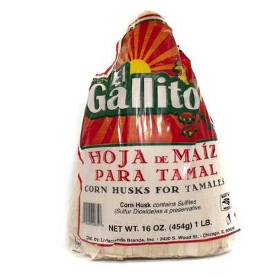 Gallito- Hoja Maiz para Tamal (Corn Husk)