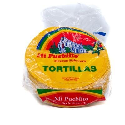 Tortillas Amarillas (Yellow Corn Tortillas) 5.5