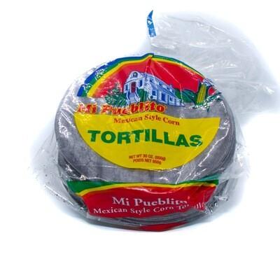 Tortilla Azul (Blue Corn Tortilla) 5.5