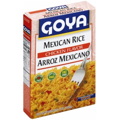Rice- Goya Mexican Rice