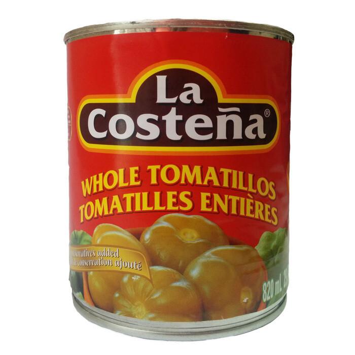 La Costena Green whole Tomatillo 29oz