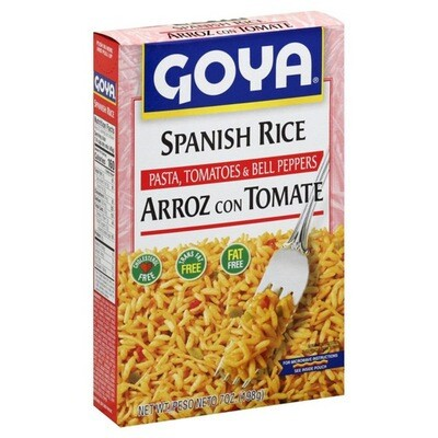 Rice - Goya Spanish Rice Mix-Tomatoes & Bell peppers