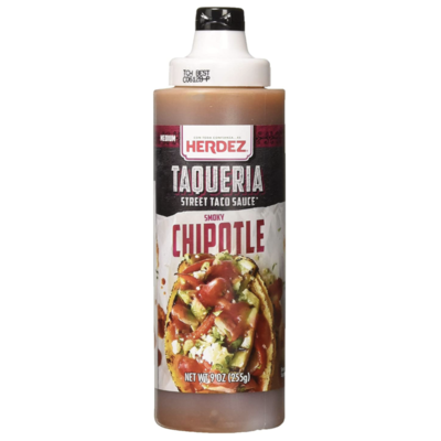 Salsas-Herdez Taqueria Chipotle sauce.