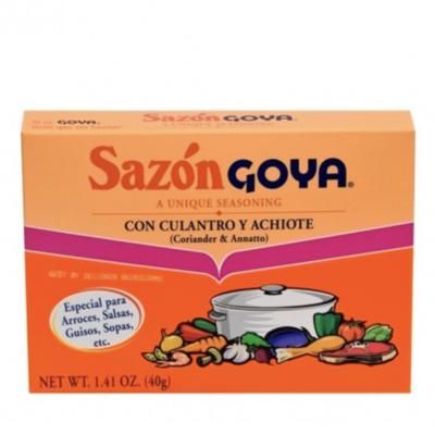 Seasoning-Goya Sazon Culantro y Achiote