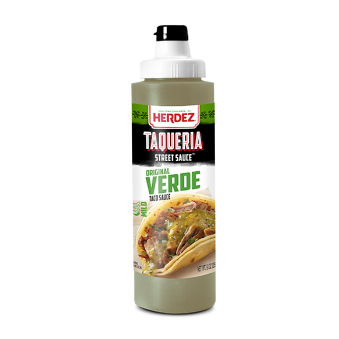 Salsas- Herdez Taqueria street Green sauce-Mild