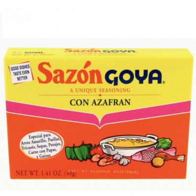 Seasoning-Goya Sazon con Azafran