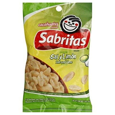 Sabritas Cacahuates Sal y Limon