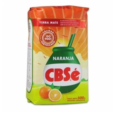 Yerba Mate CBSe Naranja
