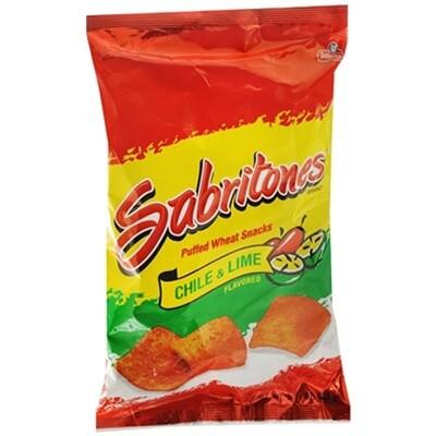 Sabritones con chile y sabor a Limon Large bag