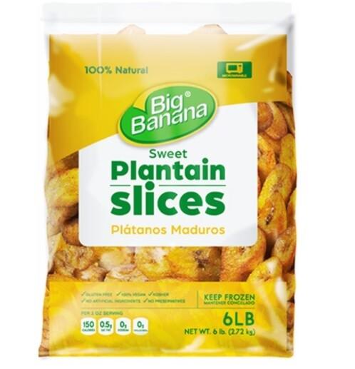 Big Banana Sweet Plantains 6lbs