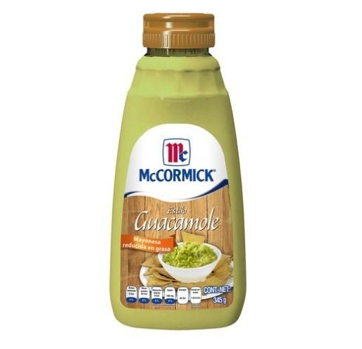 McCormick Mayo Guacamole Spread