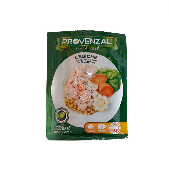 Peruvian-Provenzal Cebiche-Seasoning mix 2.04oz