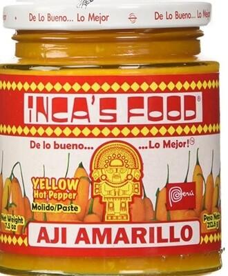 Peruvian-Aji Amarillo Paste -Incas foods 7.5oz