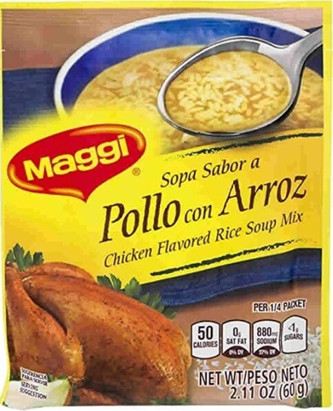 Chicken Flavored Rice Soup Mix- Maggi