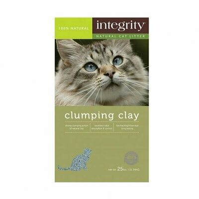 Integrity Clumping Clay Litter 25#