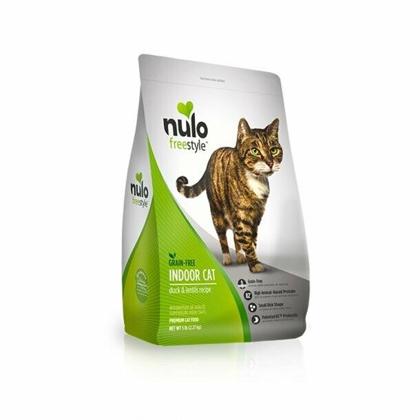 Nulo Duck & Lentils  Dry Cat Food 5#