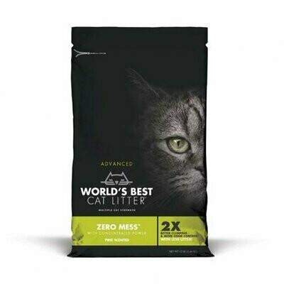 World's Best Cat Litter Adv Zero Mess PINE 12#