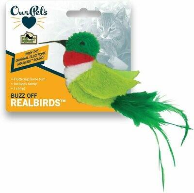 Our Pets Real Birds Buzz Off Hummingbird