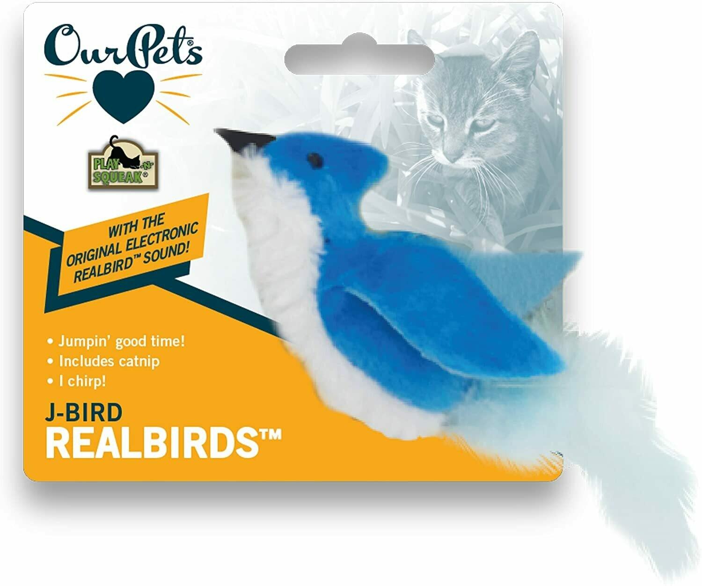 Our Pets Play N Squeak Bird J-Bird