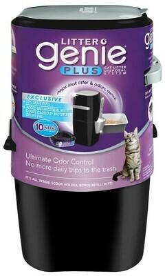 Litter Genie Plus Pail Black