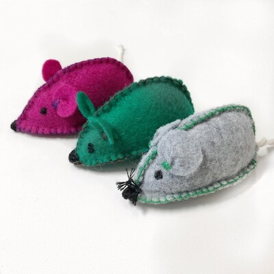 Handmade Catnip Mice