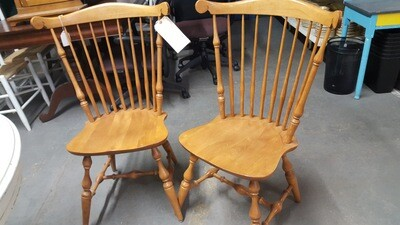 Yield House Chairs, pair