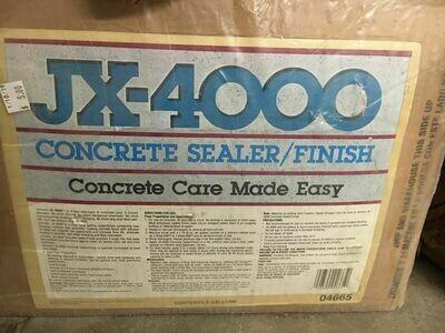 Concrete Sealer/Finish JX-4000, 5 gallon