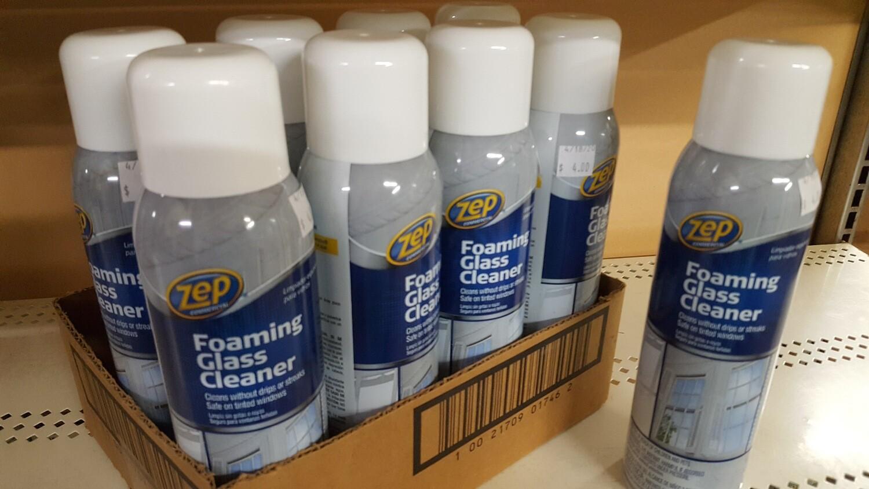 ZEP Foaming Glass Cleaner